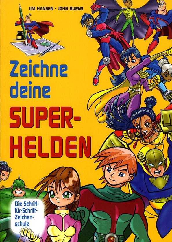 Zeichne deine Superhelden