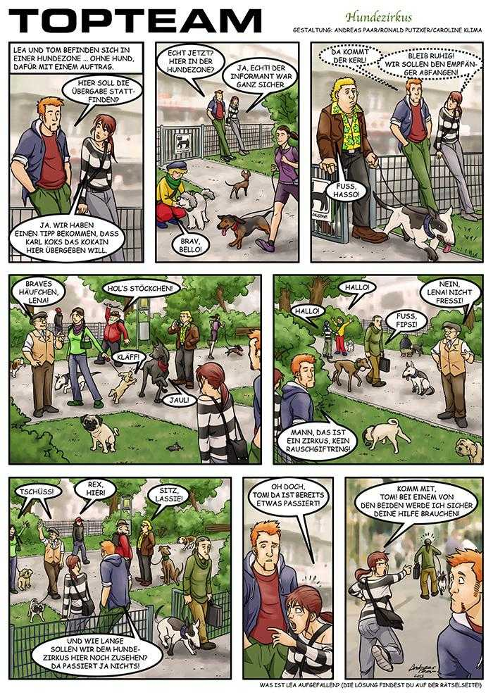 TOPTEAM - Hundezirkus
